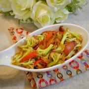 香菇炒菜花的做法