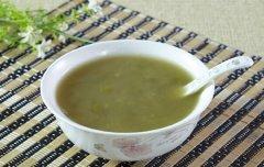 电饭锅煮绿豆汤