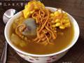虫草花玉米大骨汤的做法
