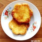 香煎牛奶玉米饼的做法
