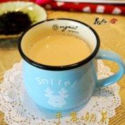 浓香手煮奶茶制作法的做法