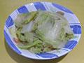 素炒白菜片的做法