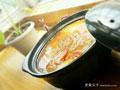 南瓜腊肉火腿汤的做法