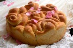 玫瑰花面包怎么做好吃
