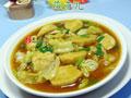 咖喱墨鱼丸圆白菜的做法