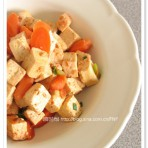 腐乳豆腐炖胡萝卜