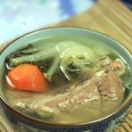 白菜猪大骨汤的做法