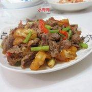 牛肉炒油条的做法