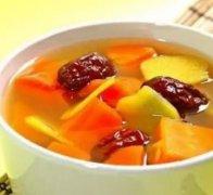 生姜胡萝卜红枣汤的做法视频