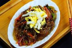 韩式炒杂菜的家常做法