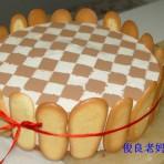 酸奶棋格慕斯蛋糕的做法