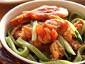 鲜虾西红柿波菜面的做法