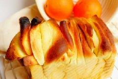 香橙手撕面包的家常做法