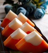 木瓜牛奶冻做法