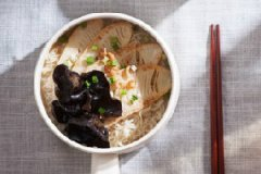 海米竹笋莜麦汤面的家常做法