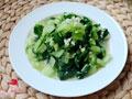 蒜茸小白菜的做法