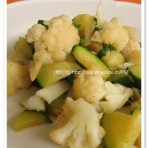 香菜菜花炒瓠子