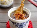 虫草花干贝土鸡汤的做法