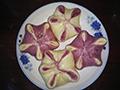 梅花豆包的做法