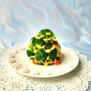 #圣诞节#圣诞树沙拉的做法