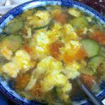 鸡蛋柿子蛋花汤的做法