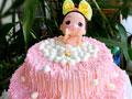 双层泡泡浴娃娃蛋糕的做法
