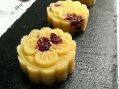 奶香蔓越莓绿豆糕的做法