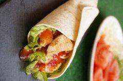正宗墨西哥鸡肉卷的做法