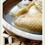 萝卜瑶柱咸鸡汤