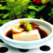 凉拌菌菇豆腐的做法