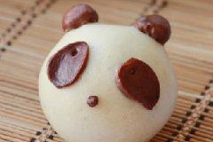 熊猫馒头的家常做法