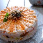 鲜虾寿司蛋糕的做法