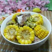 青黄豆玉米肉骨汤的做法