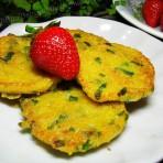 煎玉米糁饼的做法