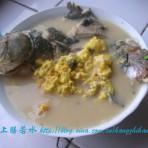 鲫鱼蛋花汤的做法
