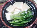 砂锅小白菜豆腐的做法