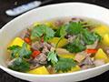 黄芪羊肉汤的做法