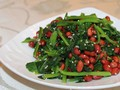 果仁菠菜---凉拌菠菜花生米的做法视频