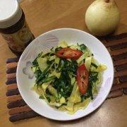 韭菜炒蛋丝的做法