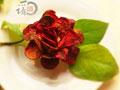 红菜玫瑰花的做法