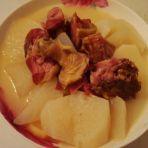 腊鸭腿萝卜汤的做法