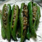 酿辣椒的做法