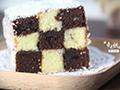 趣味十足的——棋格蛋糕的做法