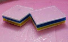 彩虹椰汁糕的做法视频