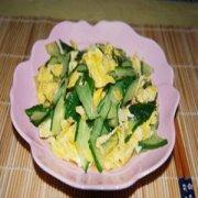 【黄瓜鸡蛋减肥法危害】黄瓜鸡蛋减肥法怎么做_黄瓜炒鸡蛋的原理