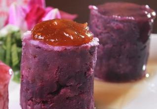 紫薯山药豌豆泥的做法
