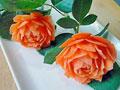 雕刻花的制作的做法