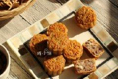 五仁广式月饼的家常做法