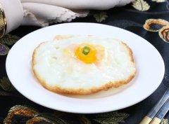 香油煎鸡蛋