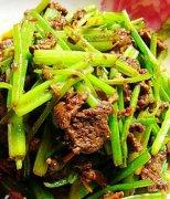 【芹菜炒牛肉末的做法】芹菜炒牛肉末的营养价值_芹菜炒牛肉末怎么做